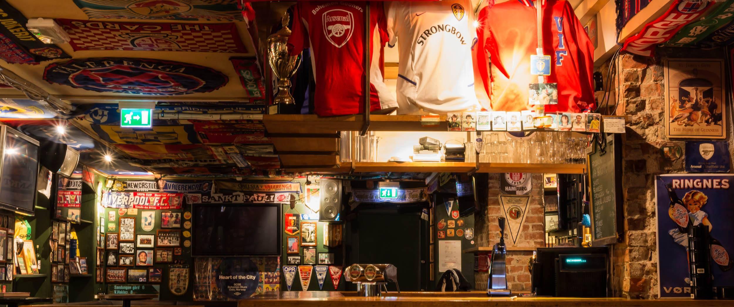 Best sports bars in oslo oslo blog for Food bar oslo
